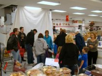 2013 Thanksgiving Basket shopping service project
