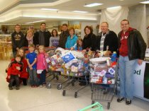 Success with 2013 Thanksgiving Basket shopping service project